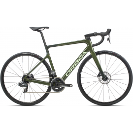 ORCA M21eTEAMMilitary Green (Gloss)- Metallic Dark Green (Matte)