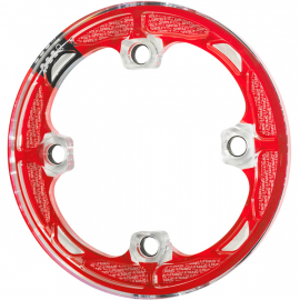 P38s bash guard red, fits 37 - 38 T
