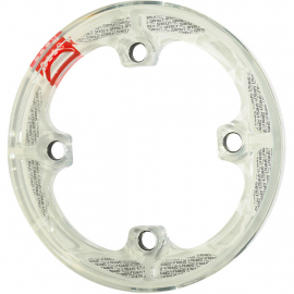 P38s bash guard white, fits 37 - 38 T