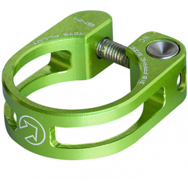 Performance seatpost clamp, 28.6, green