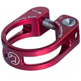 Performance Seatpost Clamp, 31.8mm, Red