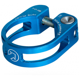 Performance Seatpost Clamp, 34.9mm, Blue