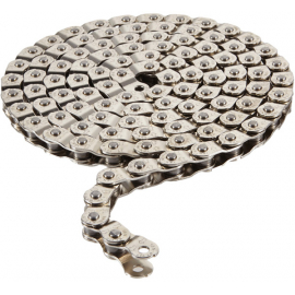 Pitch 102 half link chain 1/2 x 1/8 inch silver 102 links