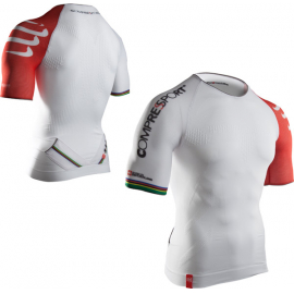 Pro Racing Triathlon SS Top, White, Size X-Small