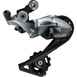 Shimano 105 RD-R7000 105 11-speed rear derailleur, GS, for low gear 28-34T, silver