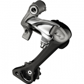 RD-T670 Deore LX 10-speed rear derailleur, SGS, top normal, silver