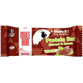 Refuel Protein Bar - 42 g - Vegetarian - Almond Cacao