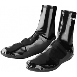 RoadRace PU Lycra aero overshoes  black medium