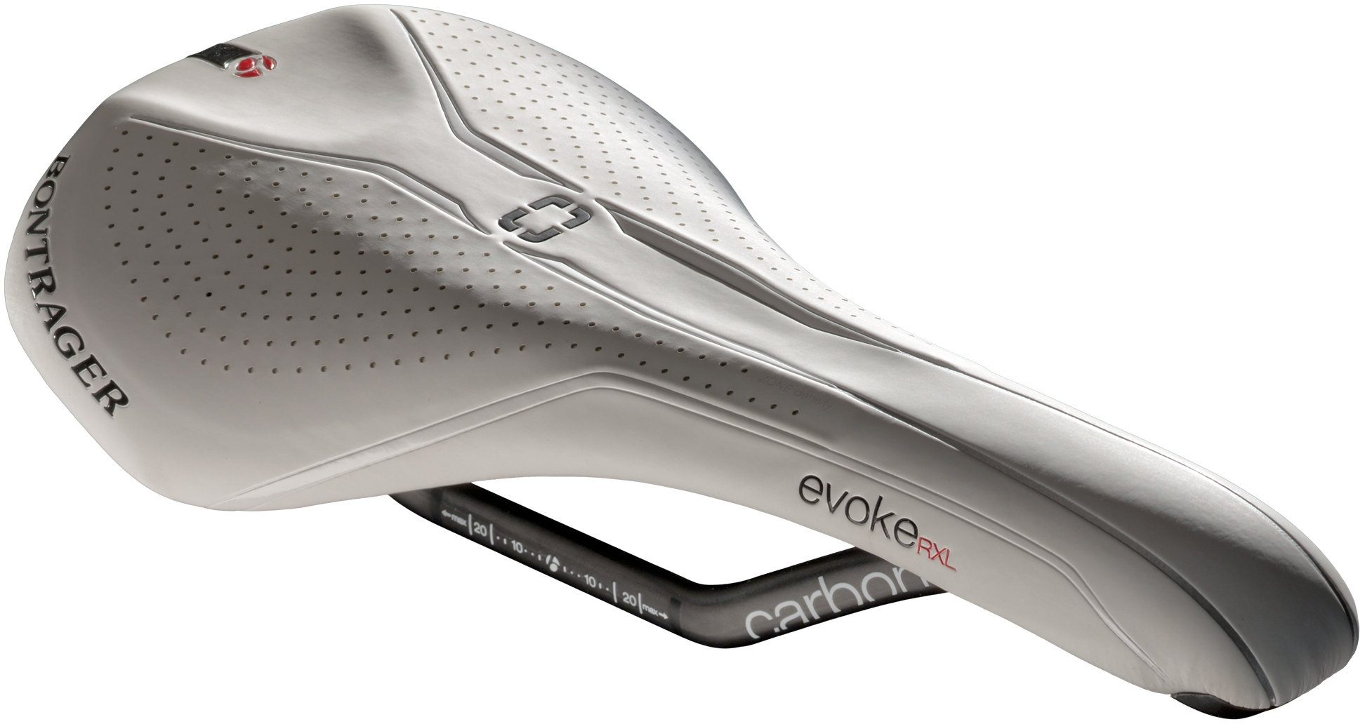 Saddle Bontrager Evoke Rxl Carbon 148 White