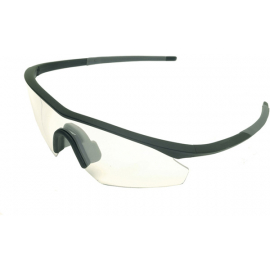 Shields - single clear lens glasses - Compact