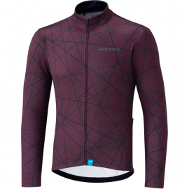 Men's Team Long Sleeve Jersey, Red, Size S