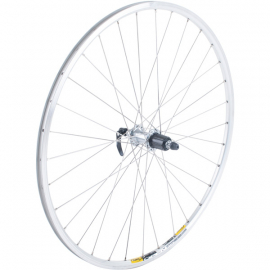Shimano R5800 / Mavic Open Pro silver / DT Swiss s/less steel rear wheel