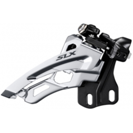 SLX M672-E triple front derailleur, direct mount, side swing, front pull