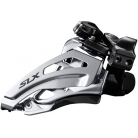 SLX M677-L double front derailleur, low clamp, side swing, front pull