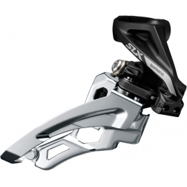 SLX M7000-H triple 10-speed front derailleur  high clamp  side swing  front-pull