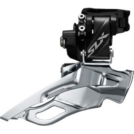 SLX M7005-H triple 10-speed front derailleur, high clamp, down swing, dual-pull