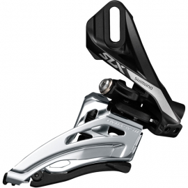 SLX M7020-D double 11-spd front derailleur, direct mount, side swing, front-pull