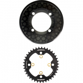 SM-CR81 Saint chainring and bash guard without fixing bolts - 40T