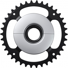 SM-CRE50 STEPS chainring  black/silver  38T without chainguard