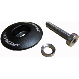 HDS MY10 TOPCAP BOLT WASHER FOR ADJUSTABLE STEM BLK
