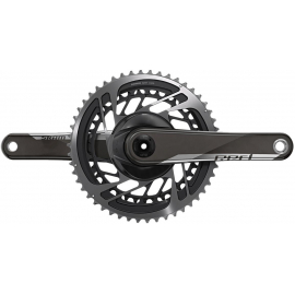 SRAM CRANKSET RED D1 DUB (BB NOT INCLUDED): BLACK 172.5MM - 50-37T