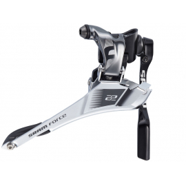 SRAM FORCE22 FRONT DERAILLEUR YAW BRAZE-ON WITH CHAIN SPOTTER: