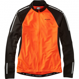 Stellar men's long sleeved thermal jersey, shocking orange XX-large