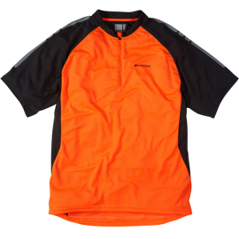 Stellar men's short sleeved jersey, shocking orange XX-large