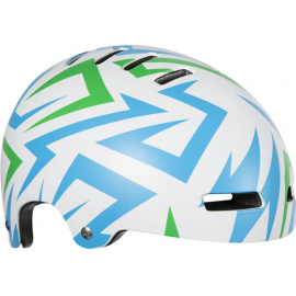 Street Jr Helmet, Electric Green, Uni-Youth