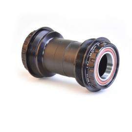 Black 70-118 mm Shimano SM-BB71 MTB British Thread Press Fit Bottom Bracket with Inner Cover