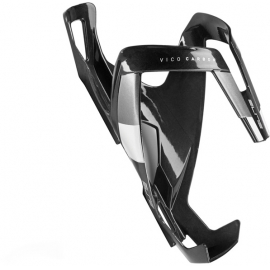 Vico carbon bottle cage gloss black / white