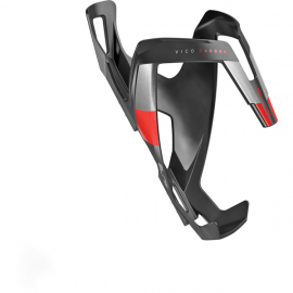 Vico carbon bottle cage matt black / red