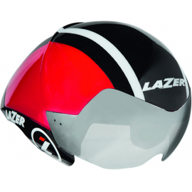 Wasp Air Helmet, Black/Red/White, Small