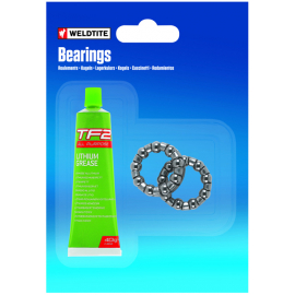 Loose bearings with grease