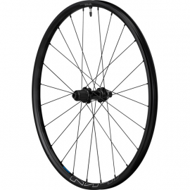 Shimano Wheels WH-MT600 tubeless compatible wheel, 27.5 in, 12 x 148 mm axle, rear, black