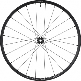 WH-MT600 tubeless compatible wheel, 27.5 in, 15 x 100 mm axle, front, black