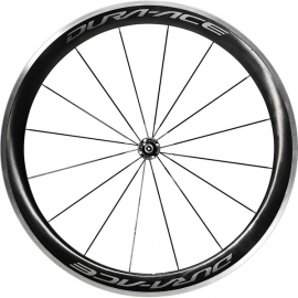 WH-R9100-C60-CL Dura-Ace wheel, Carbon clincher 50 mm, pair Q/R