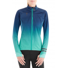 Hump Flash women/'s showerproof jacket atomic blue size 8